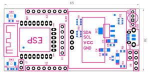 """ESP12.OLED. Контролер для IoT на основі ESP8266-12F з дисплеєм OLED 0,96""""."""