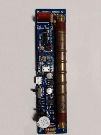 GGreg20_V1 Комплект 1 – реєстратор радіоактивних частинок з трубкою Гейгера СБМ-20 (SBM-20) і виходом на контролер
