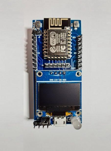 """Контролер на основі ESP8266-12F з дисплеєм OLED 0,96"""""""