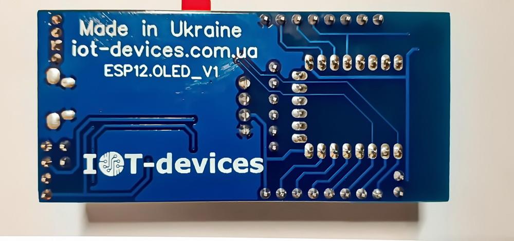 Контролер на основі ESP8266-12F