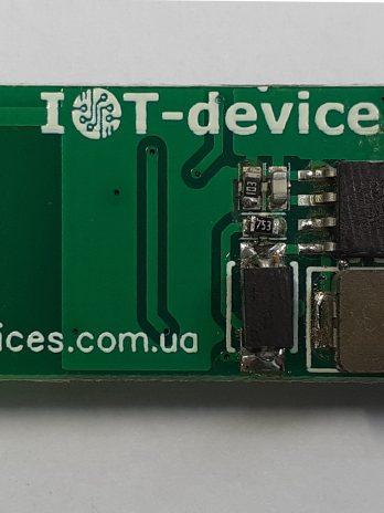 Модуль DCDC_3V3_400V_V1 – високовольтний перетворювач напруги постійного струму 3.3 В в напругу 400 В для живлення трубки Гейгера-Мюллера