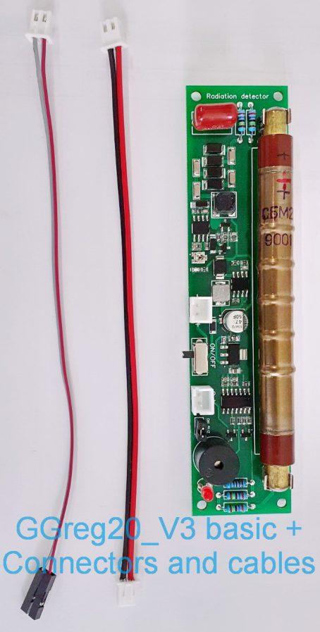 GGreg20_V3 basic + Connectors cables